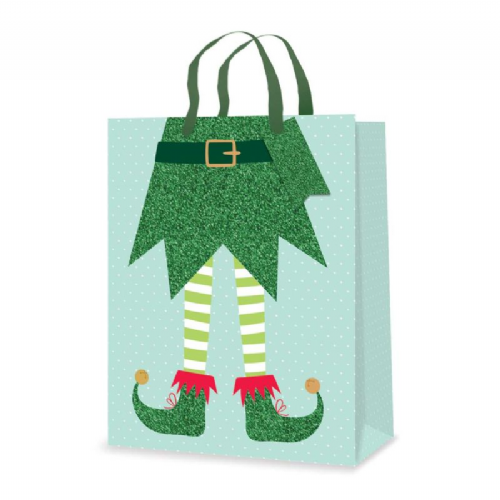 Gift Bag - Elf Legs - Medium